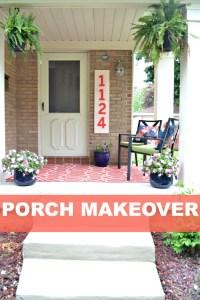 Porch Makeover Details - Balancing Home