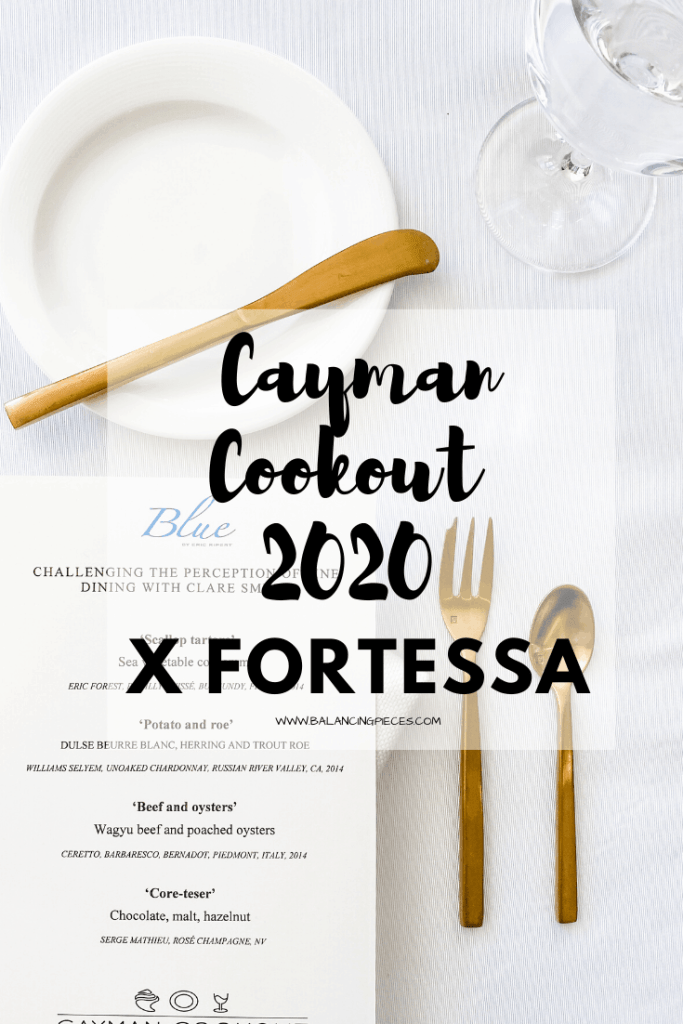 Cayman Cookout 2020 x Fortessa