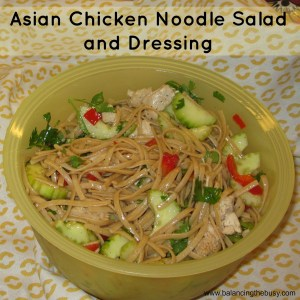 Asian Chicken Salad and Dressing Recipe