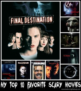 Top 10 scary movies