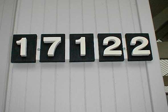 housenumbers
