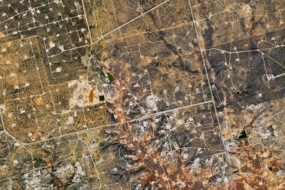 Aerial Mapping Oil and Gas, Industrial and Commercial Permian Oil Field
