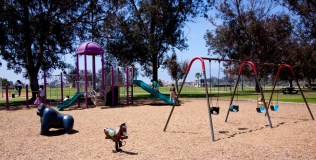 Bring your kids to the Morley Field Playground