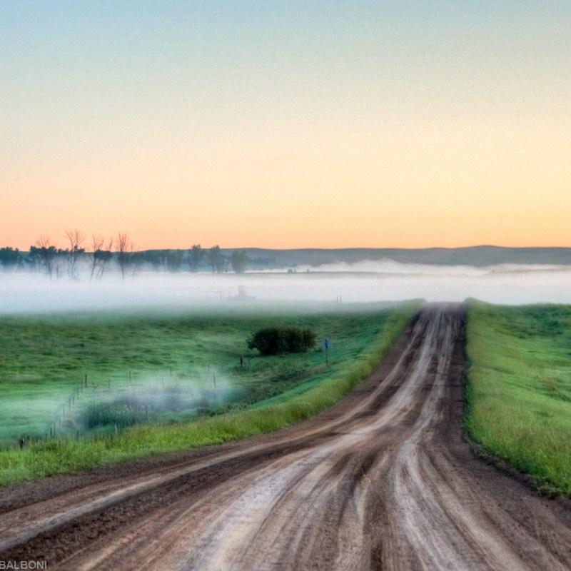 Sunrise Backroad