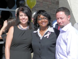 Mayor Gordon, Marci&Nick Rosato