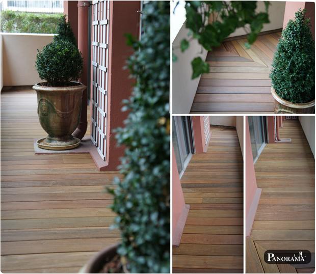 Terrasse et Mobilier en bois composite  Montmartre  Paris  75018Terrasse en bois  Paris 75