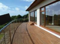 Curved Balcony in Glass | Glass Balustrades | Balcony Systems