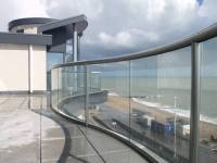 Curved Glass Balustrades | Bognor Regis | Case Study