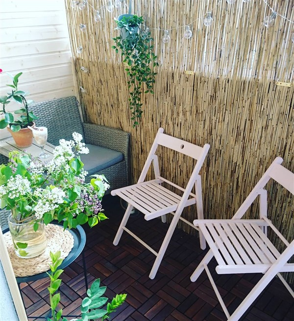 bamboo fence ideas for balcony privacy