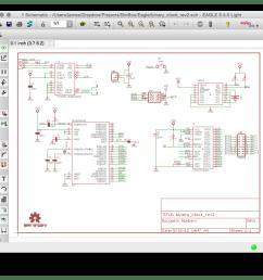 eagle schematic example [ 1024 x 892 Pixel ]