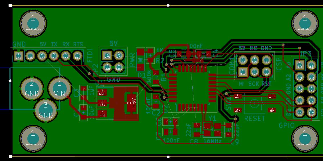 boring rectangular arduino nano clone  Bald Engineer