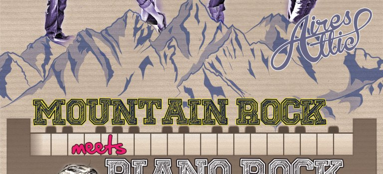 New Gig Poster Design: Swing Station w/ Aires Attic