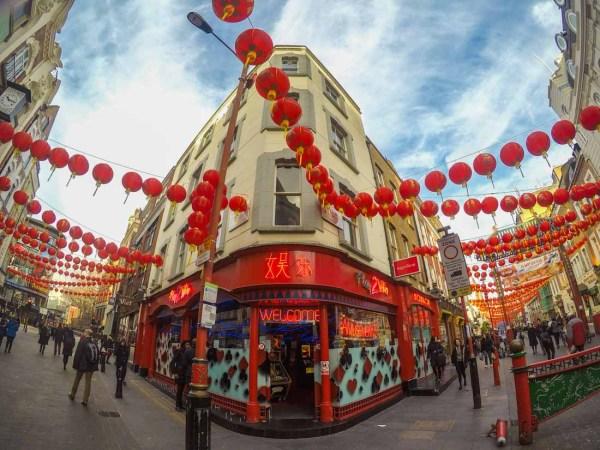 Colourful Walk Chinatown London Baldhiker