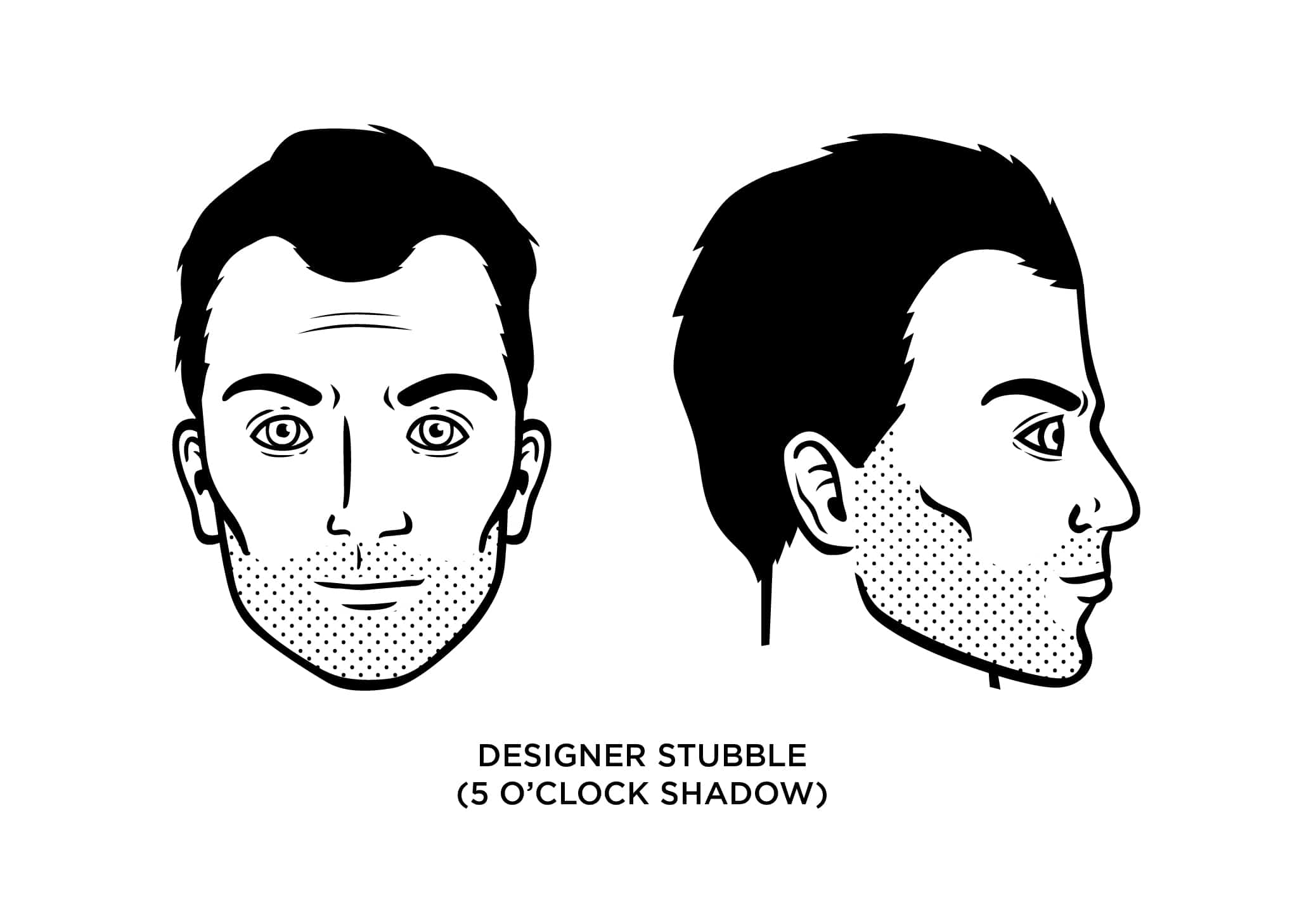 5 O Clock Shadow Designer Stubble How To Grow Examples