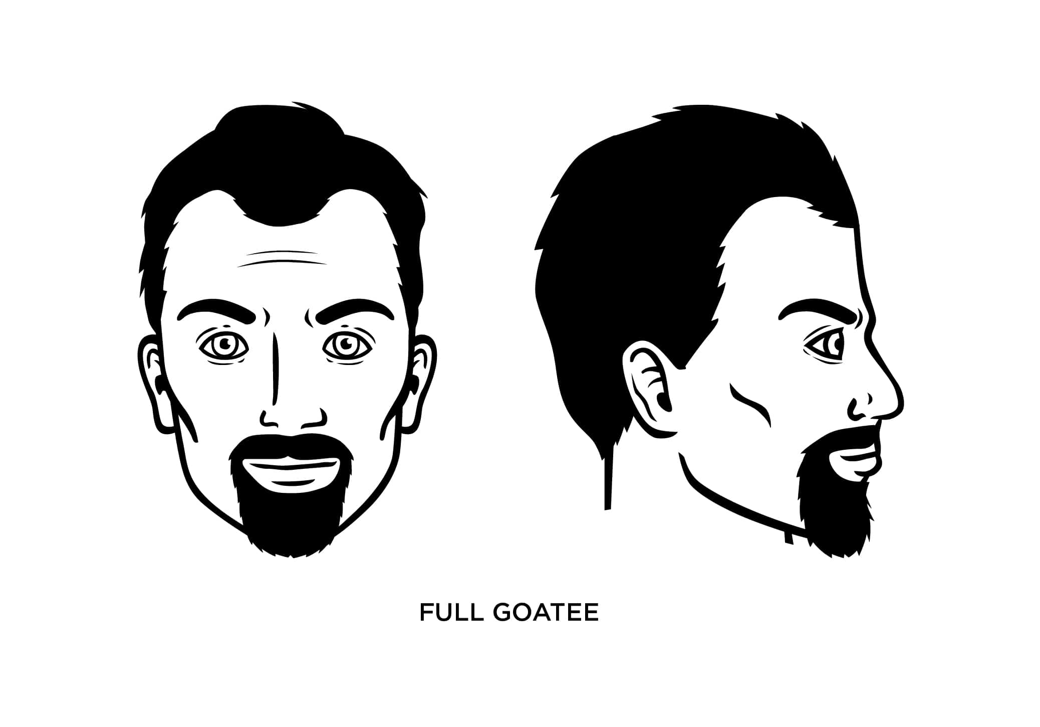 The Full Goatee Style: How to Trim, Guide, Examples, and More!