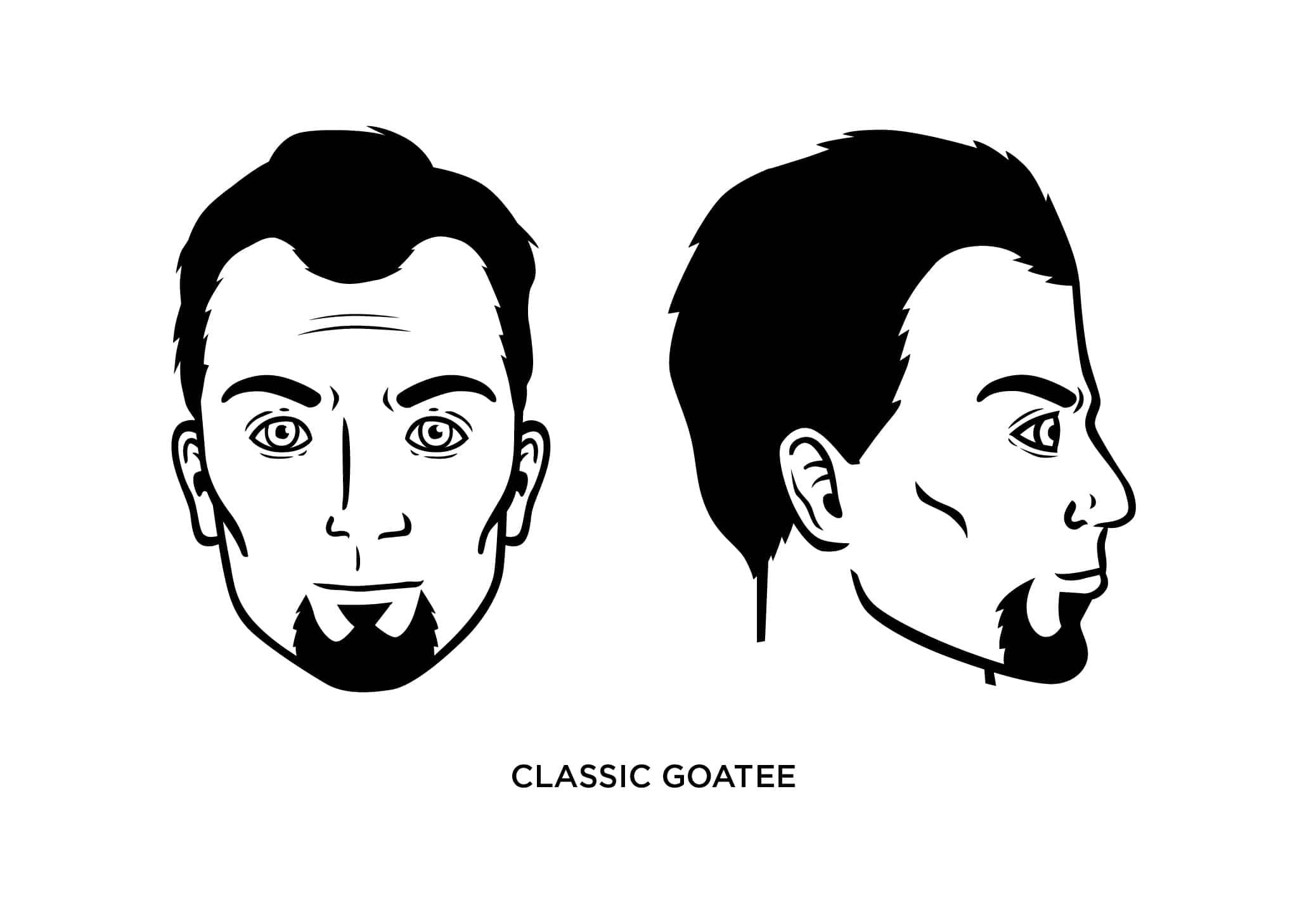 The Classic Goatee Style: How to Trim, Guide, Examples