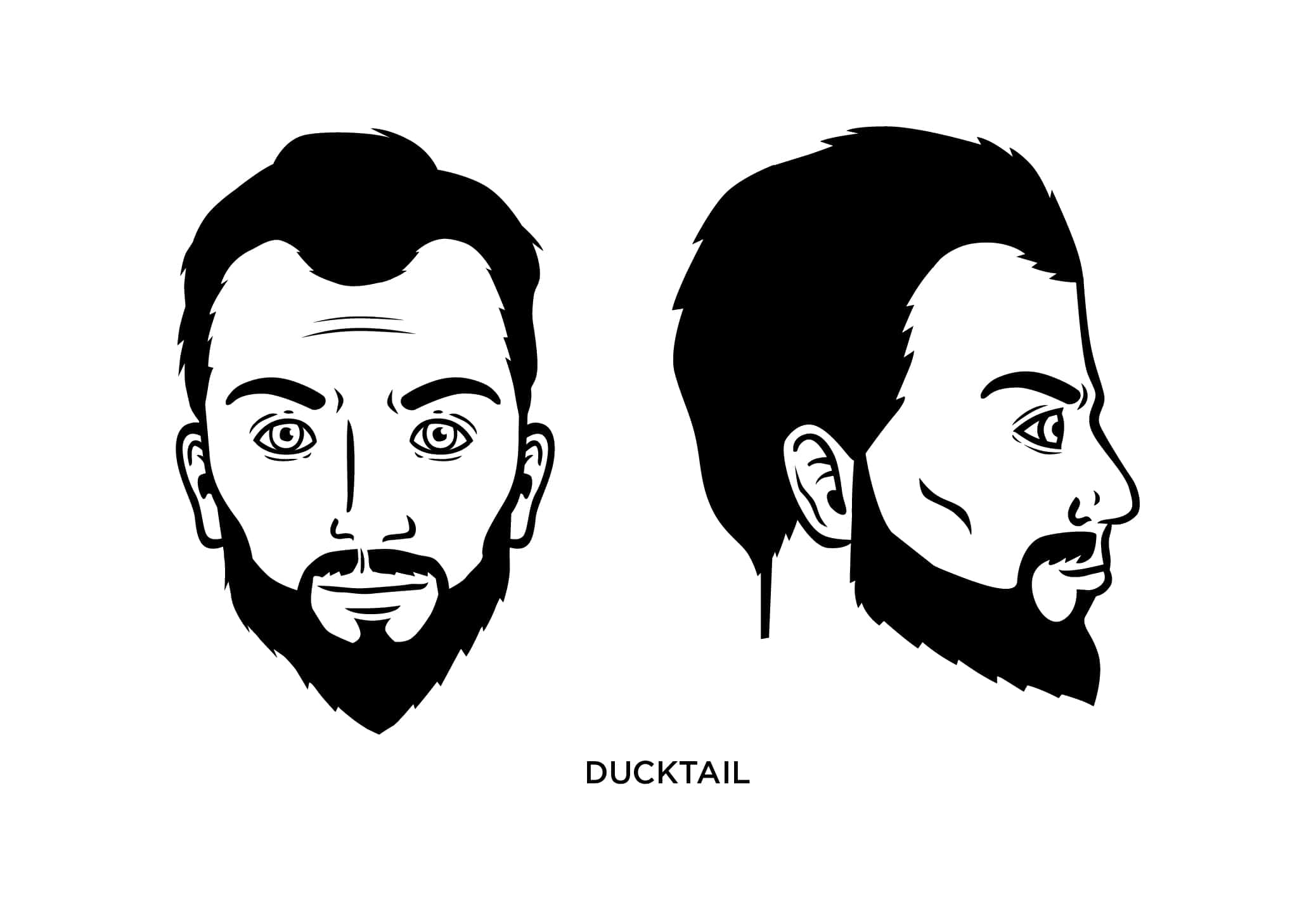 The Ducktail Beard Style: How to Shape, Guide, Examples
