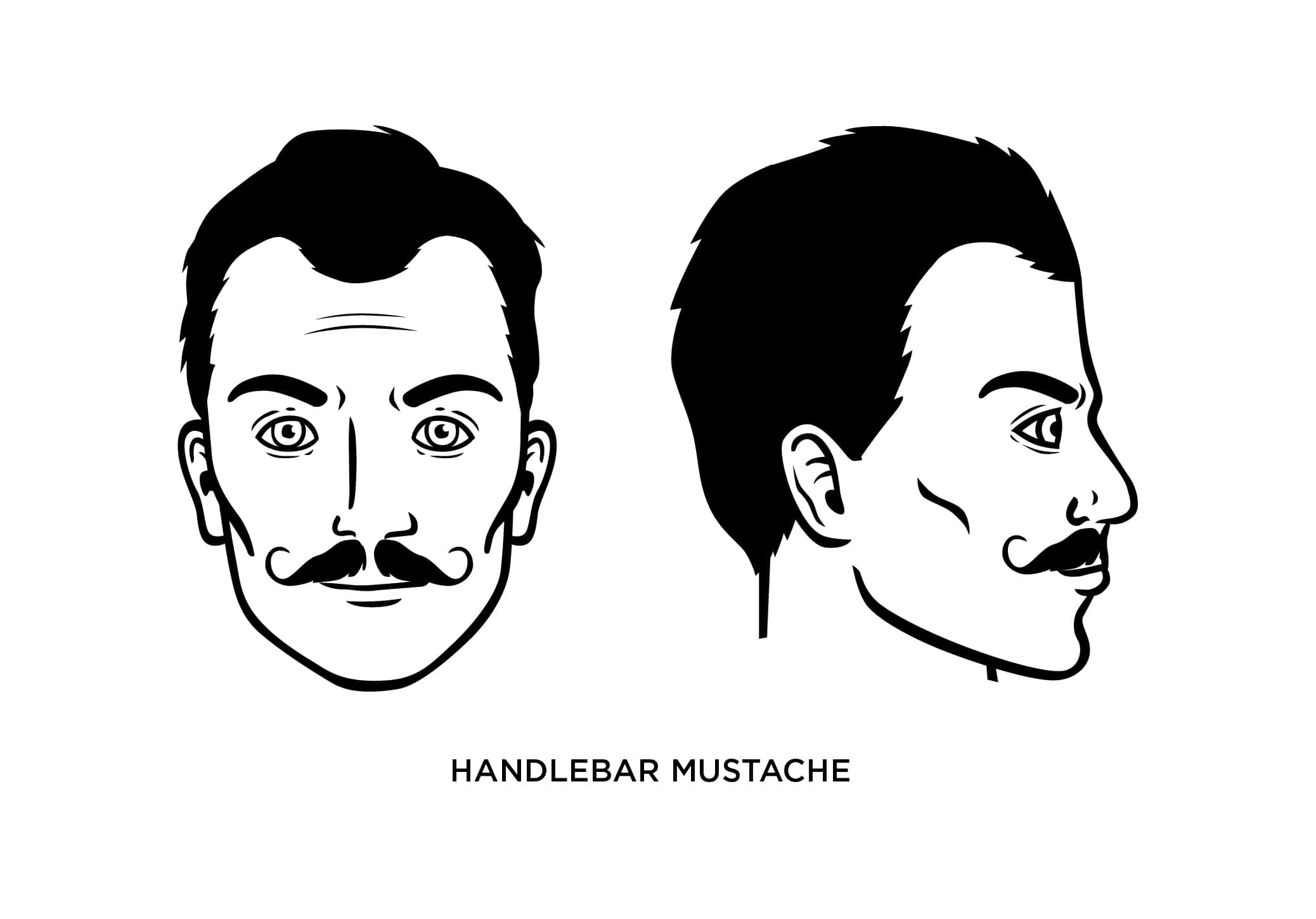 The Handlebar Mustache: How to Grow, Guide, Examples, and