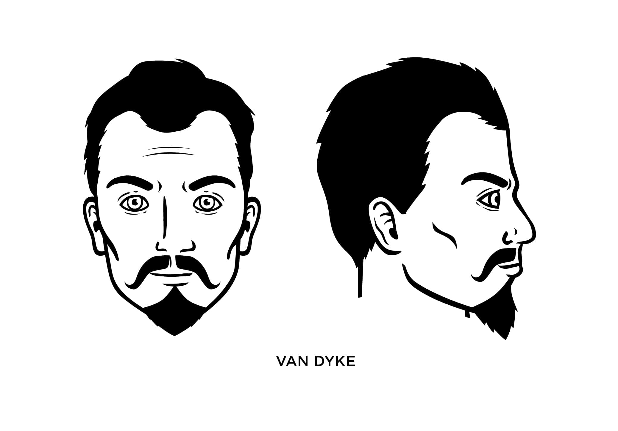 The Van Dyke Beard Style How To Trim Guide Examples
