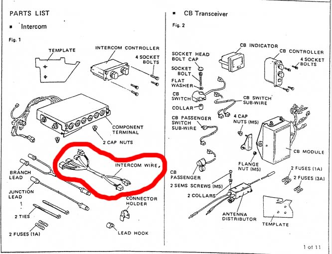 gl 1800 wiring diagram