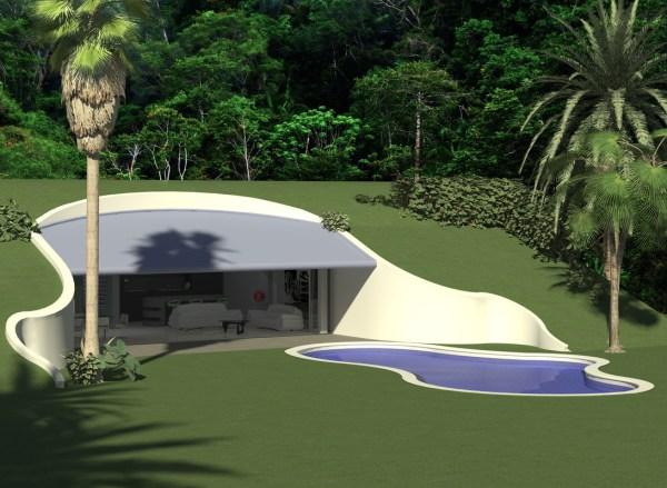 Baldwin 'bryan Architects - Earth Sheltered House