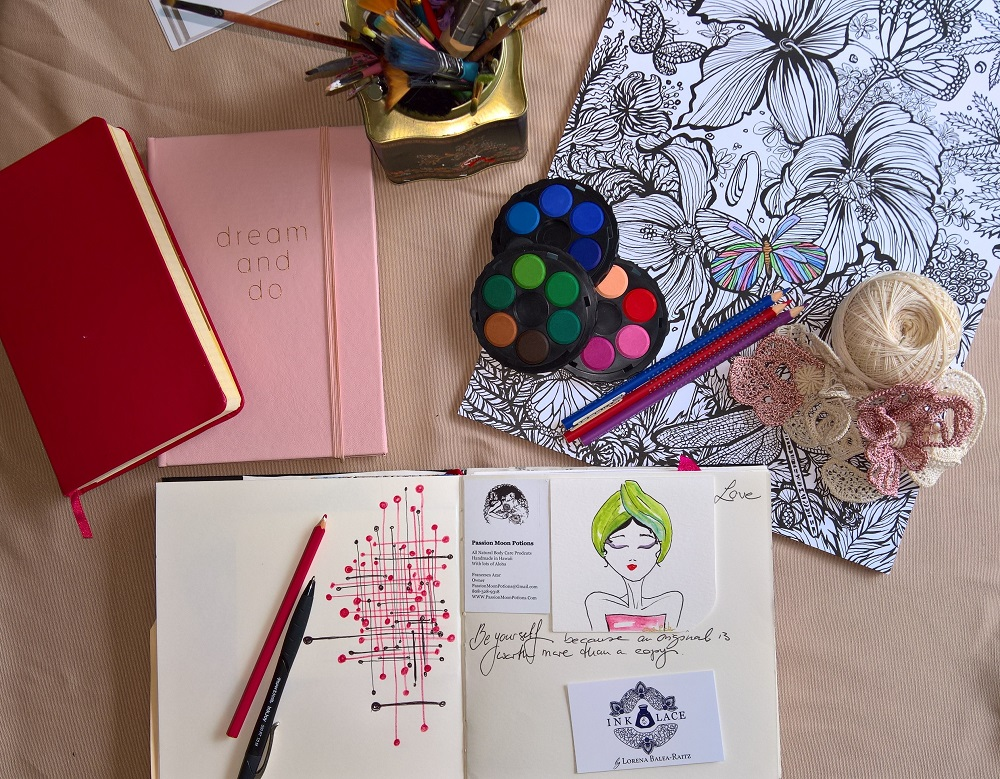Reiki Colour Therapy - Ink & Lace