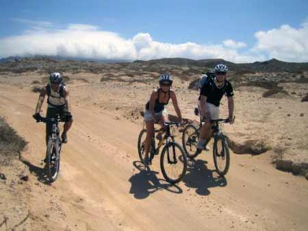 Biken auf La Graciosa
