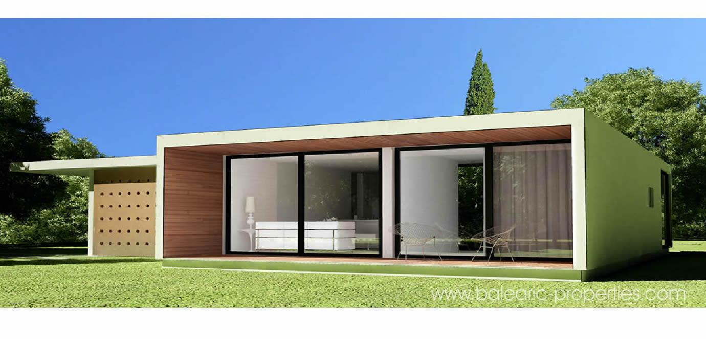 Concrete Modular Villas In Mallorca A New Concept For Modern