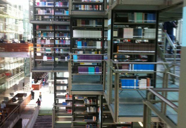Biblioteca Vasconcelos. D.F. México.