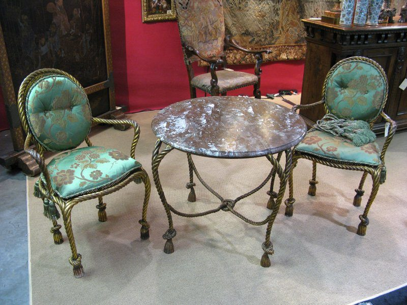 chair design iron sit up for babies italian gilt chairs table balee antiques
