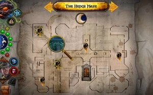 La mappa di Elder Sign: Omens