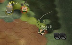 (fig.13) Colpo di anticarro al fianco del Panzer