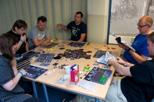 eclipse-boardgame- partita in corso