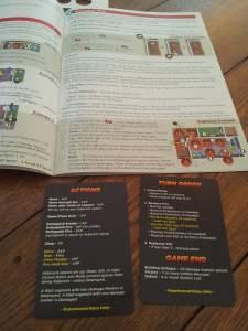 Manuale e player aids di Flashpoint: Fire Rescue. Sono disponibili online la versione pdf e la traduzione completa in italiano.
