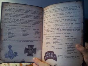 Il manuale, ottimamente stampato e rilegato