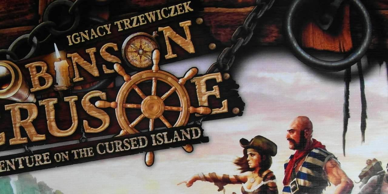 Robinson Crusoe adventure on the cursed island