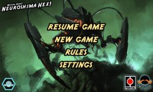 Schermata introduttiva per NHex