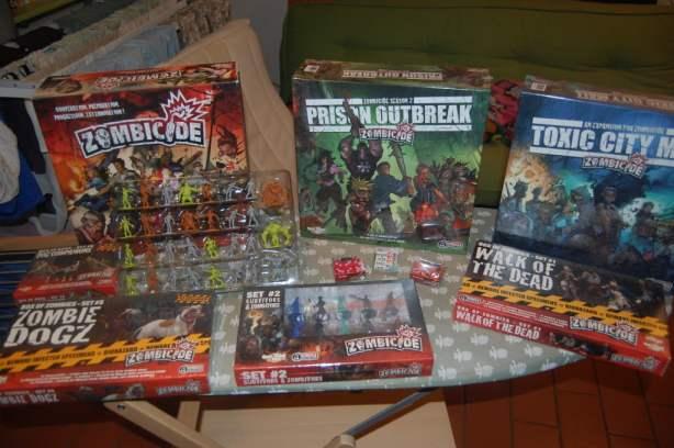 Tutto il materiale di zombicide