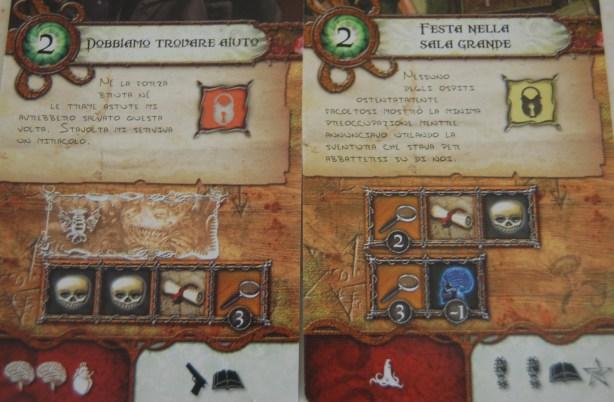 Dettaglio di carte avventura
