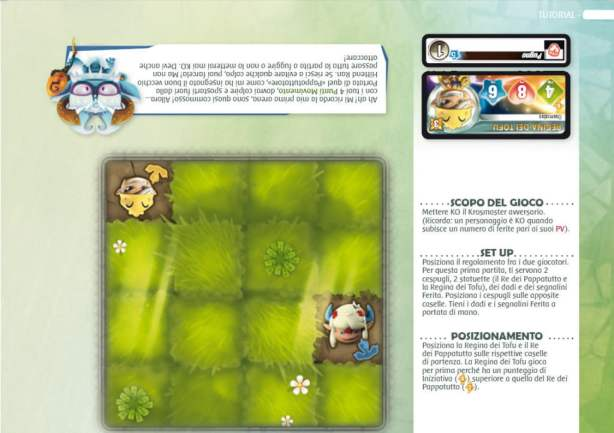 Layout del manuale