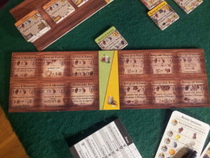 Nel gioco avanzato le possibili stanze costruibili aumentano in modo considerevole (basta usare il retro dei quattro tabelloni).
