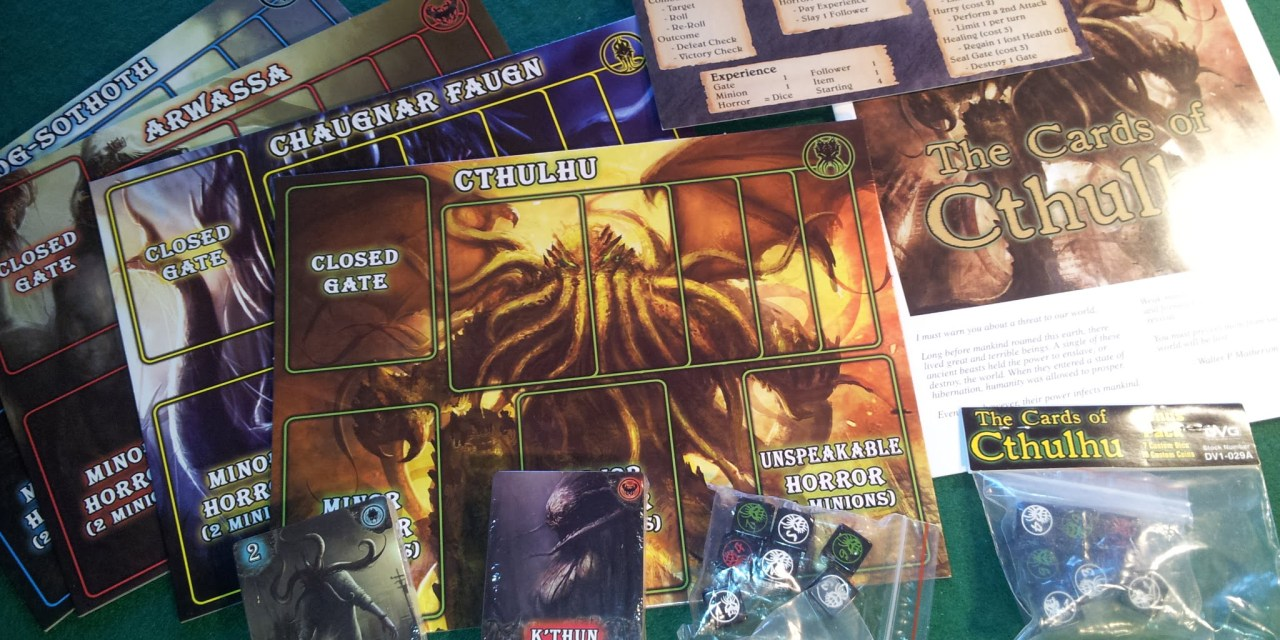 The Cards of Cthulhu (Recensione + AAR)