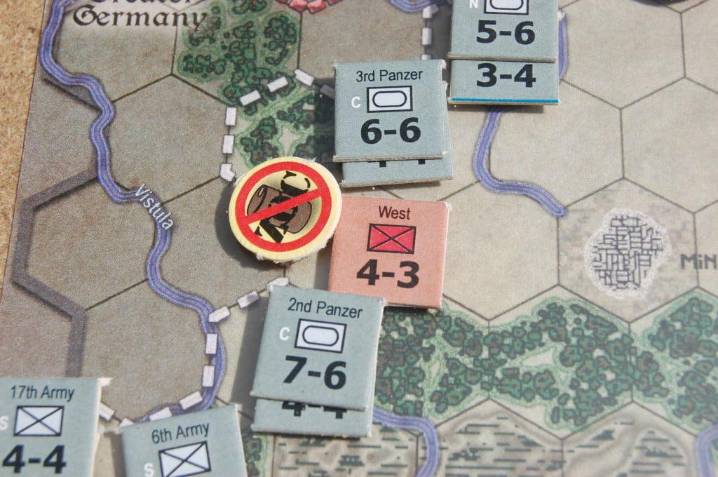 Primo turno di Barbarossa - fuori rifornimento