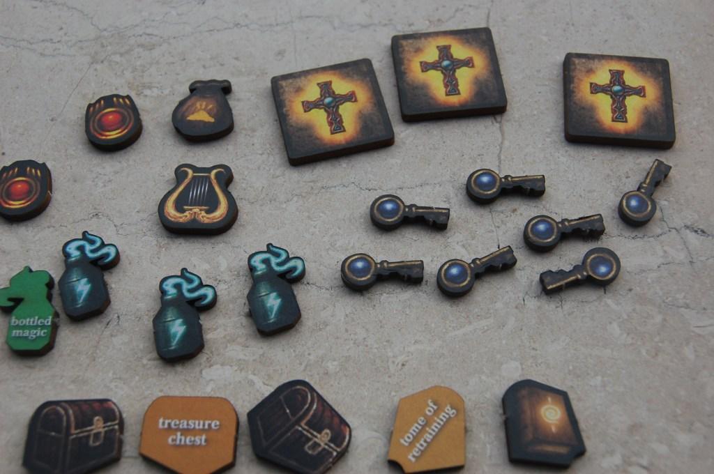 Gli oggetti dei giocatori