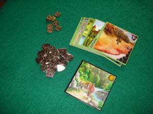 I materiali aggiuntivi contenuti nell'espansione Prosperità.