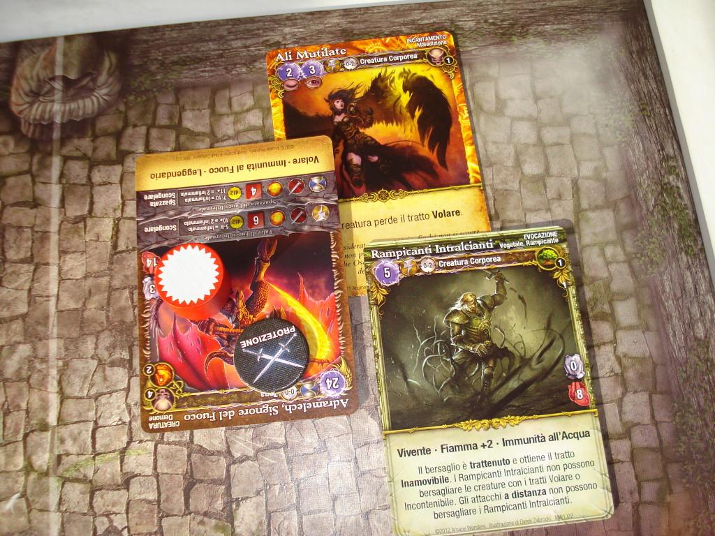 Il Signore delle Bestie usa la magia per impedire al demone di volare, e poi lo rallenta coi rampicanti per guadagnare tempo...