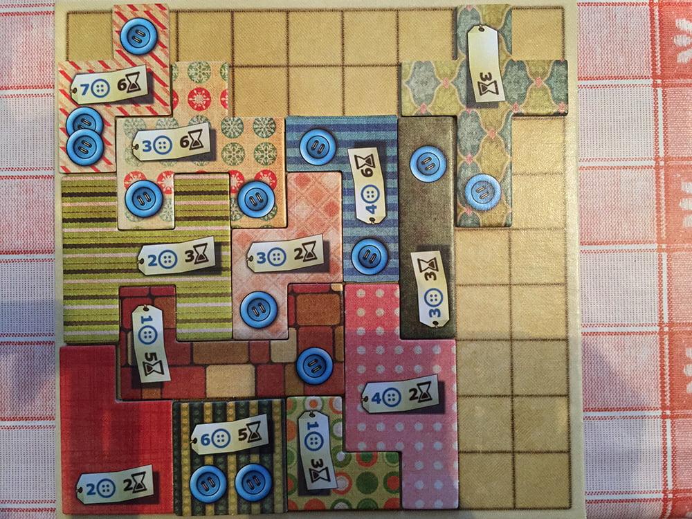 Un colpo da maestro: abbiamo completato un'area 7x7 che ci frutterà un bel bonus!