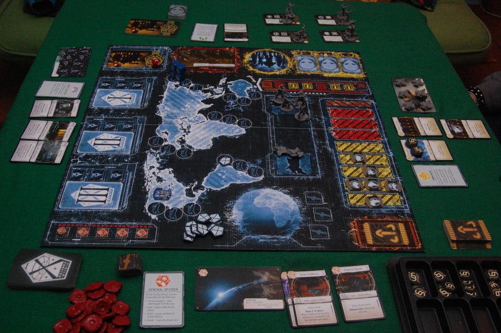 I componenti dopo il setup Anche i componenti fuori mappa hanno un posto ben preciso deove stare.