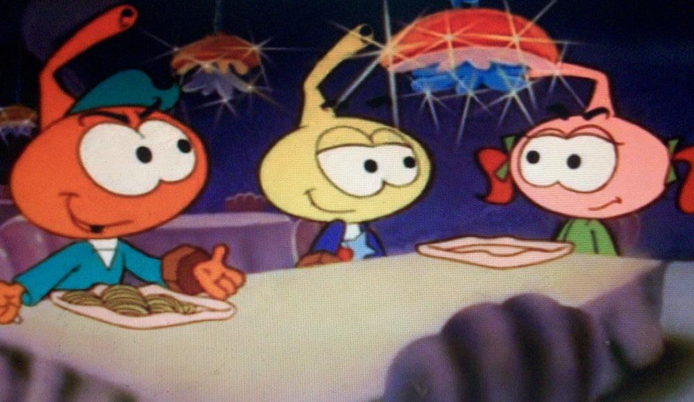 Tutti ricordano i Puffi, ma chi si ricorda degli Snorky?