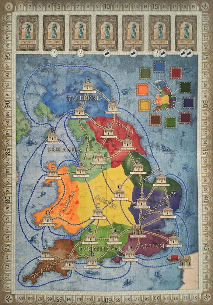 La nuova mappa Britannia, perfetta per le partite da 2 giocatori.